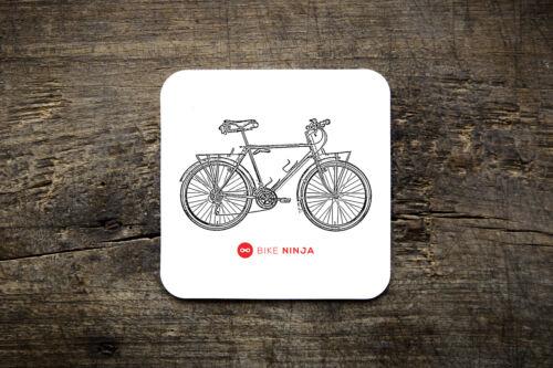 Bike Ninja Retro Classic 1984 Moots Mountaineer Coaster