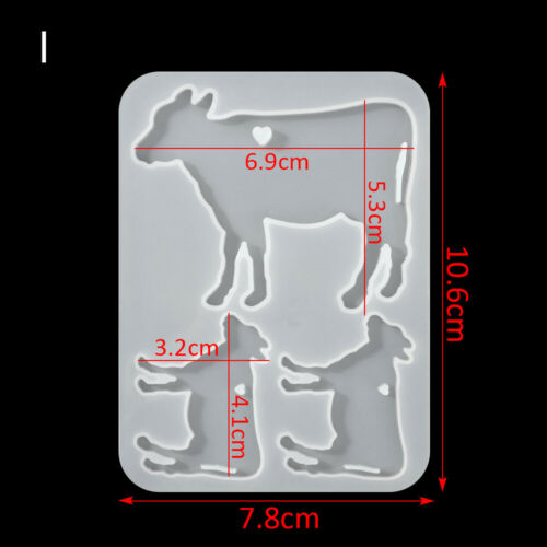 Necklace Earrings Mould Crystal Epoxy Mold Pendant Mould Resin Silicone Molds