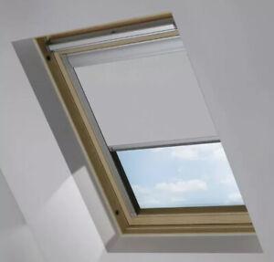Roller Blind for Roof Windows Thermal Roller Blind Beige 100% Sun Protection 4dekor Roof Window Roller Blind for Velux C02 Blackout Roller Blind with Guide Rail Roof Window Darkening DIY & Tools