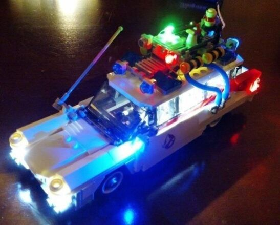 USB LED LIGHT KIT FOR LEGO GHOSTBUSTERS ECTO-1 21108 with Instructions