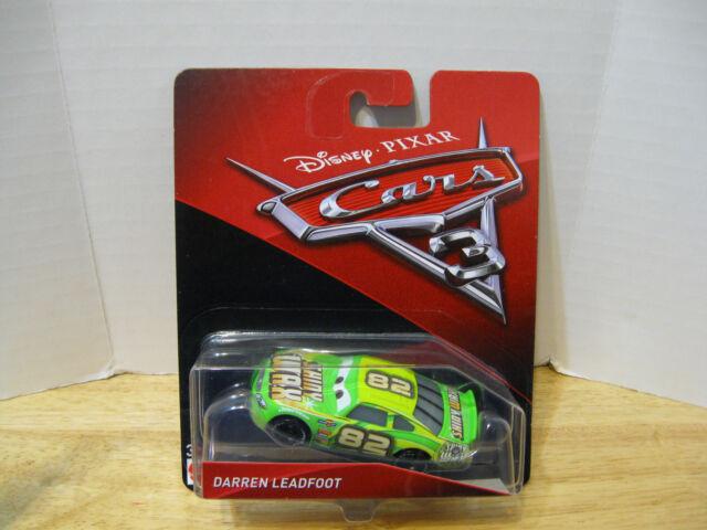 Darren Leadfoot NIP VHTF NEW 2017//2018 Disney Pixar Cars 3 Character Car