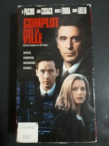 City-Hall-Complot-Dans-La-Ville-VHS-French-Version-1996-Political-Thriller