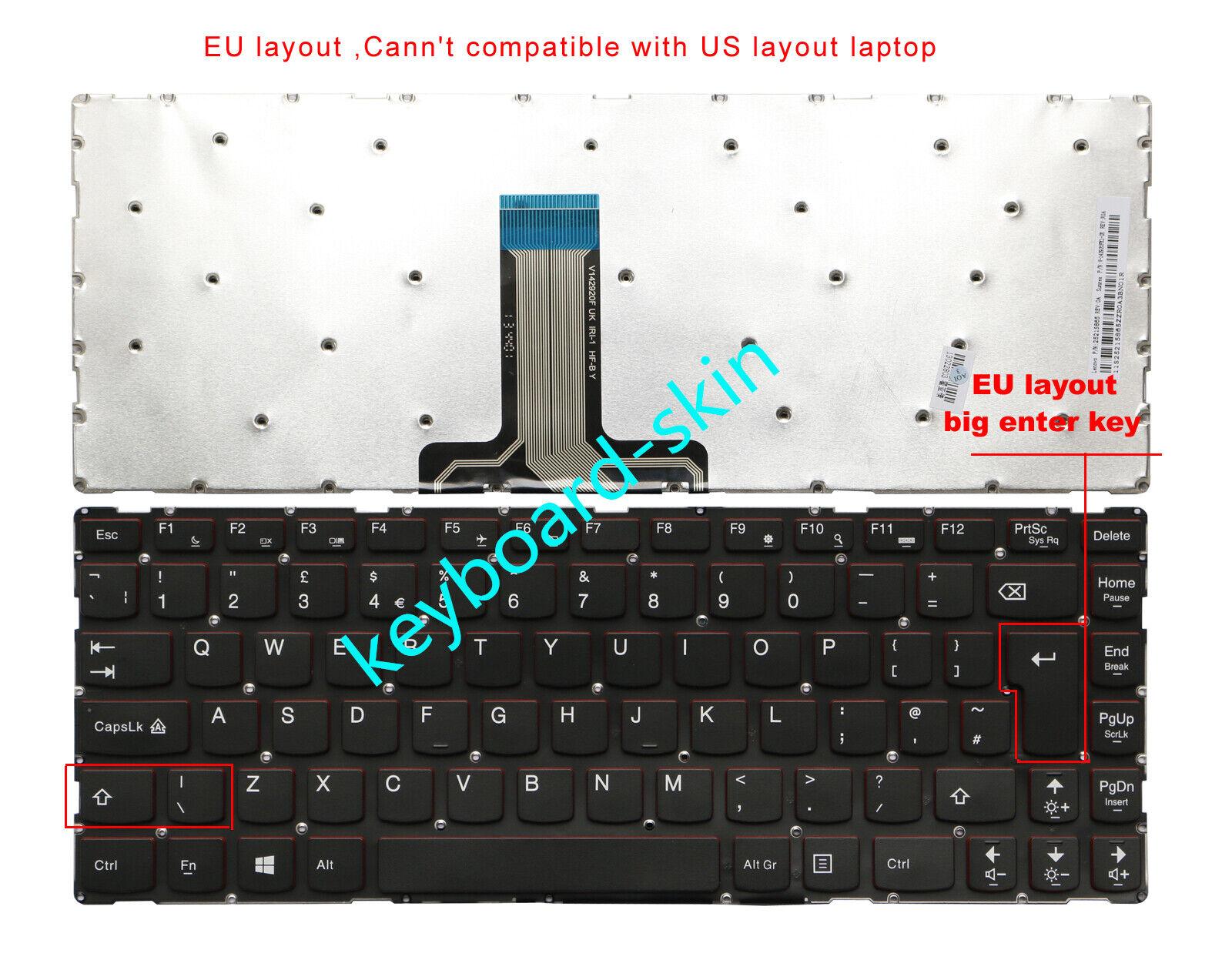 New for IBM Lenovo Ideapad Y40,Y40-70AT-ISE,Y40-80-IFI Y40-80 laptop Keyboard UK