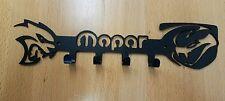 Viper Hellcat Mopar logo Key Fob holder metal art chain