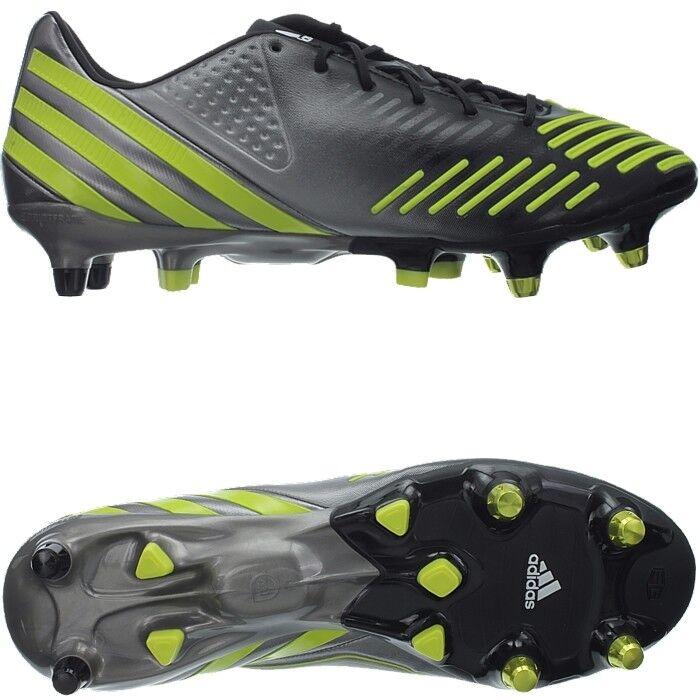 Adidas projoator lz xtrx sg Profi señores botas de fútbol negro amarillo nuevo