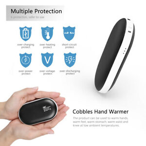 Warmer USB Portable Electric Rechargeable Power Hand Bank Heater Pocket Warmers