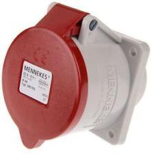 Mennekes Typ1276 32A-6h 415V 3P+N waterproof IP44 EU Socket Panel Mount Germany