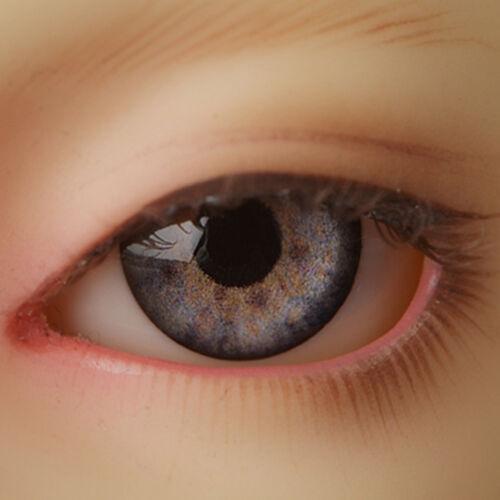 Dollmore MSD acrylic eyes OOAK 14mm MA01 Optical Half Round Acrylic Eyes