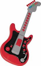 Brand New Chad Valley Electronic Toy Guitar – Red With 8 Musical Notes