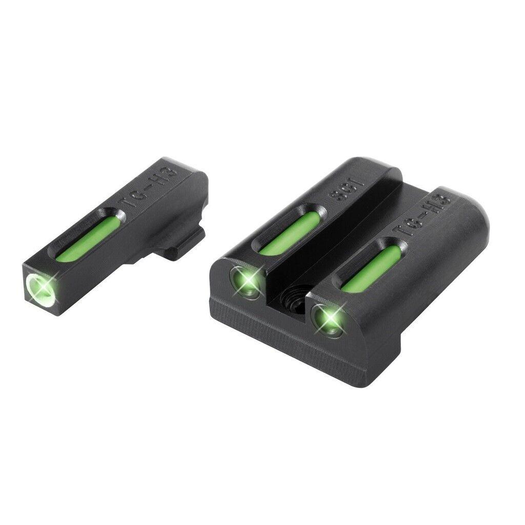 Nouveau TruGlo TFX Sig  8  8 Set pistolet Tritium Fiber jour nuit Sights TG13SG1A
