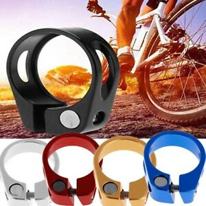 New-31-8mm-34-9mm-MTB-Bike-Cycling-Saddle-Bicycle-Seat-Post-Clamp-Aluminum-Alloy