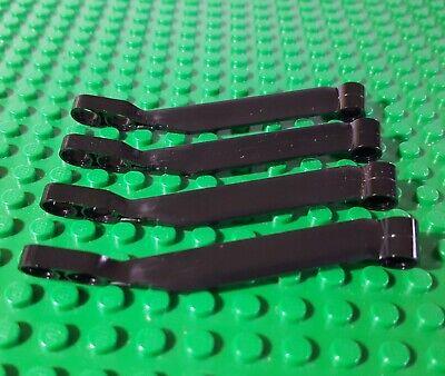 LEGO x136 Black Technic Wishbone Suspension Arm lot of 4