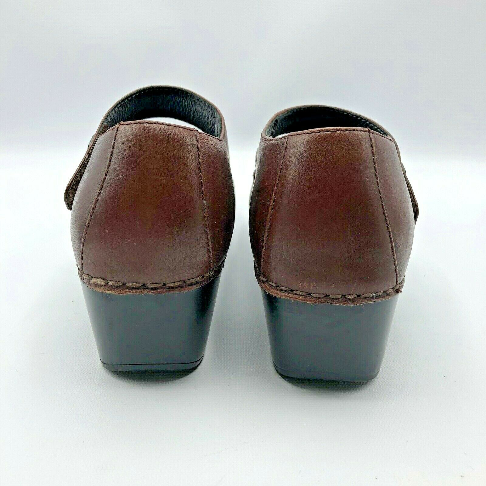 Dansko Tandy Women Cordovan Burnished Full Grain Grain Grain Mary Jane shoes SZ 9.5-10 EUR 40 f01e5a