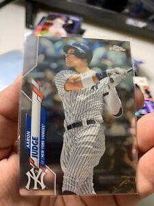 2020 Topps Chrome Base #50 Aaron Judge New York Yankees