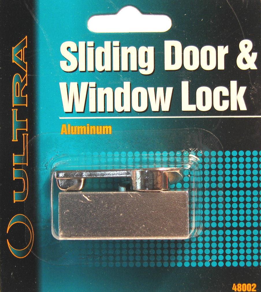 Ultra Hardware 48002 Aluminum Sliding Patio Door /& Window Lock