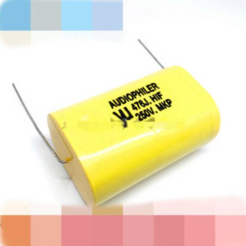 Audiophiler MKP 250V 0.68//1//2.2//4//4.7//5.6//8.2//10//15//47UF Audio MKP Capacitor