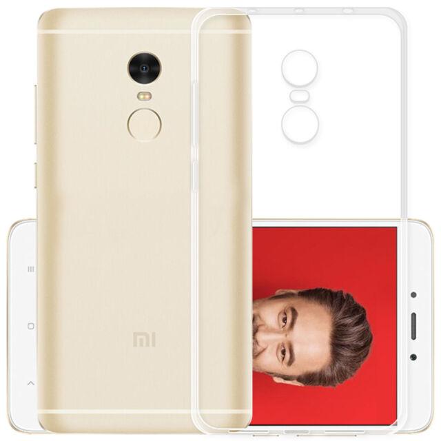 Ultra Thin Clear Soft Silicone Gel TPU Case Cover For Xiaomi Redmi Note 4 4X