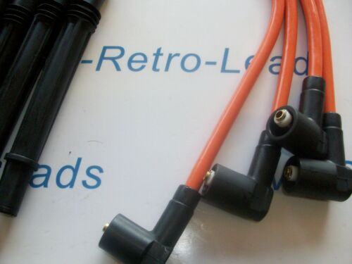 ORANGE 8 mm Performance Ignition Leads Pour CLIO TWINGO 1.2 Turbo Modus D4F 16 V