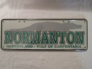 QUEENSLAND-number-plate-034-NORMANTON-034-Gulf-of-Carpentaria-brand-new-plate