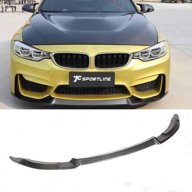 Carbon Fiber Front Bumper Lip Spoiler Body Kit For BMW F80