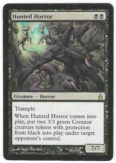 ~ Magic The Gathering Hunted Horror ~ Ravnica ~ NearMint//Excellent