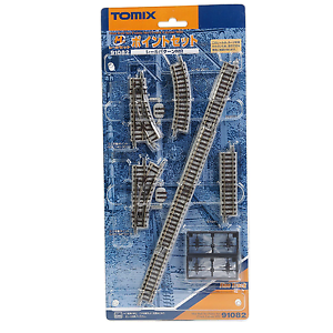Tomix-91082-Mini-Rail-Set-Points-Set-Track-Layout-MB-N
