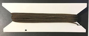 25 ft. 1.4mm Dark Brown Window Blind Cord, String Honeycomb, Cell Shade, Blinds