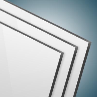 Dibond® Aluverbundplatte 6mm Weiß RAL9003 Lite-Series zweiseitig matt//matt
