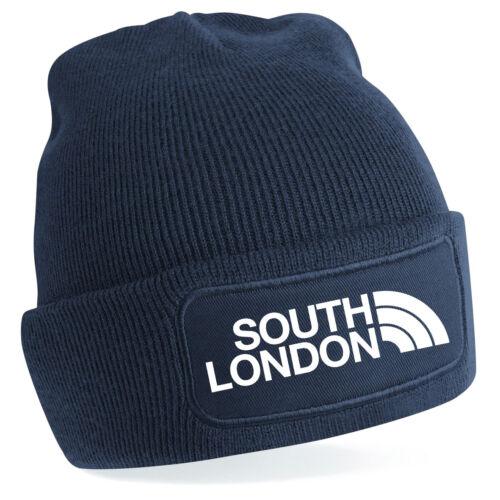 South London Charlton CRYSTAL PALACE FOOTBALL FAN Beechfield Beanie 7 Couleurs NF