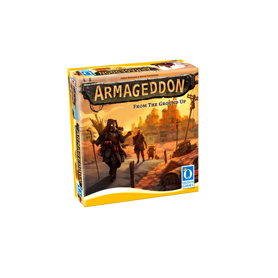 ARMAGEDDON BOARD GAME BY QUEEN GAMES | BN | HPS20121