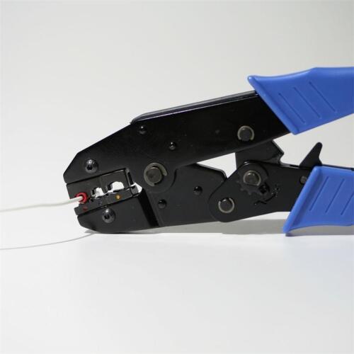100 cable zapatos-conector plano en rojo 2,8 x 0,5mm para 0,5-1,5mm² Cable Enchufe zapato