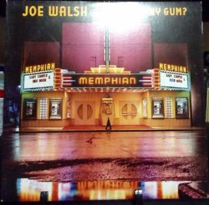 JOE-WALSH-Got-Any-Gum-Album-Released-1987-Vinyl-Record-Collection-US-pressed