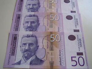 UNC 2006 Serbia Banknote 1000 Dinara Dinar Dinars