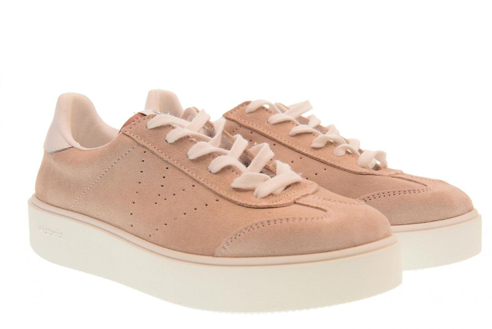 Victoria A18f shoes femme baskets basses avec plateforme 260122 pink