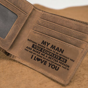 7a3fd9ac95ae Image is loading Engraved-Wallet-For-Boyfriend-Wallet-Man-Wallet-Leather-