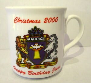 Christmas-2000-Happy-Birthday-Jesus-TBN-Trinity-Broadcasting-Network-Mug-Y2K