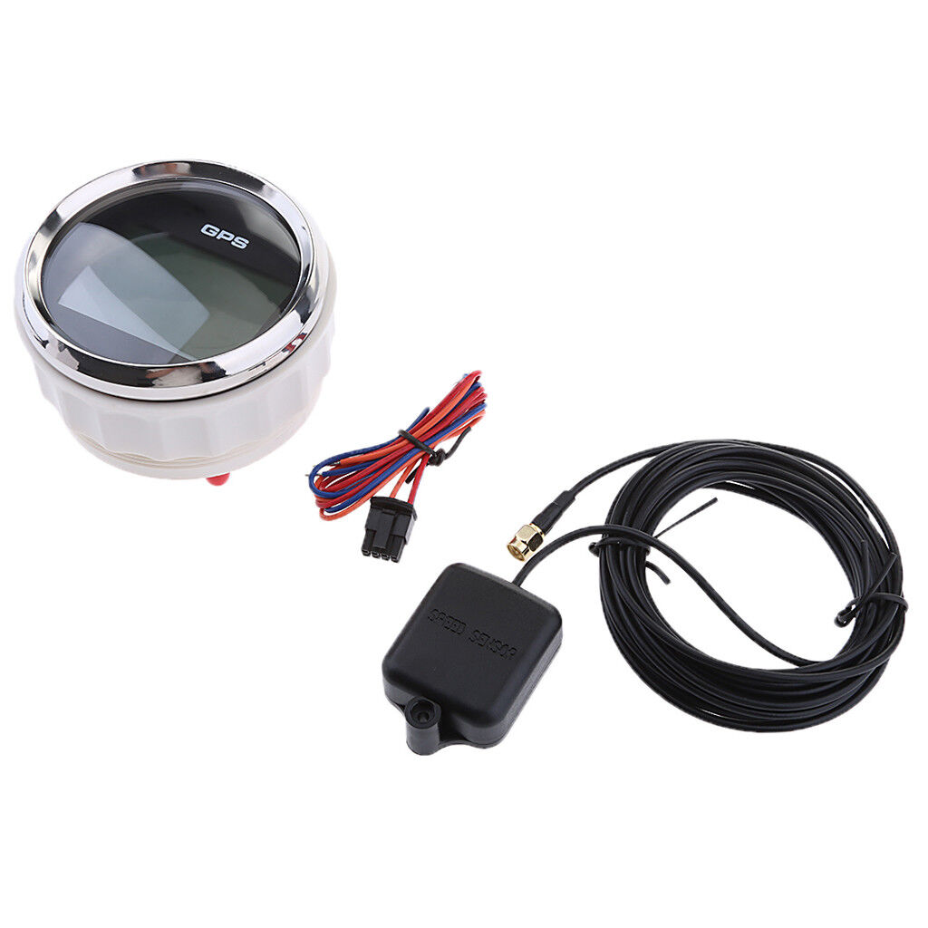 85mm GPS Digital Tachoanzeige 9 32V für Auto LKW Marine Stiefel