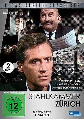 Ausdauernd Stahlkammer Zürich ( Vergessene Deutsche Tv Serien ( Komplette Staffel 1 )) Neu