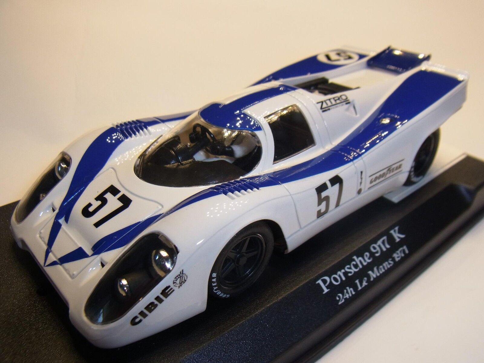 NSR Porsche 917k Le Mans 1971 para Circuito de Slot 1 3 2 Coche Slot