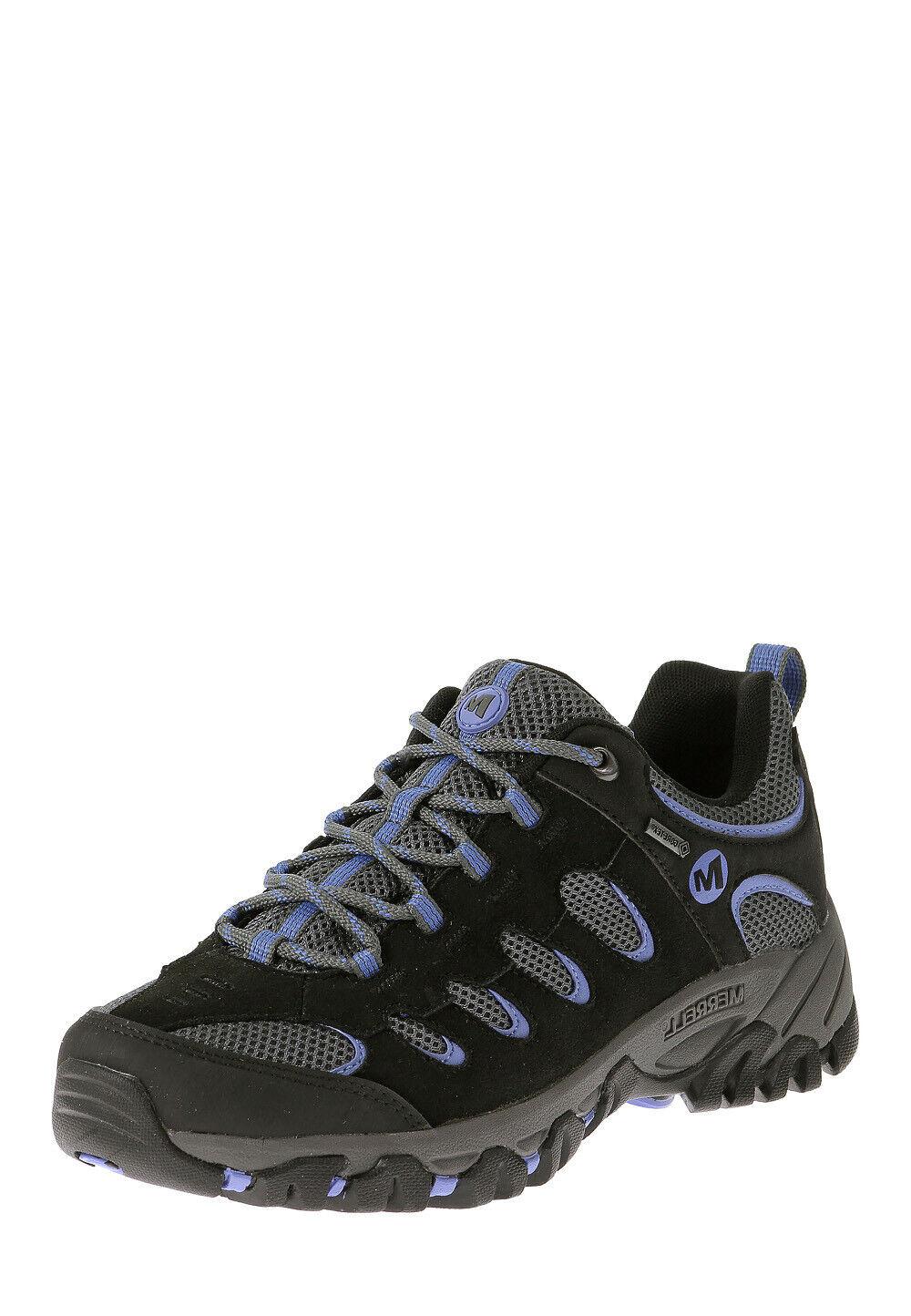 Merrell Damen Hiking-Schuhe Ridgepass GTX schwarz lila Größe 37