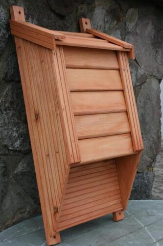 Häuschen für Fledermäuse Fledermaushaus Holz Fledermauskasten Fledermaus NEU