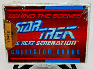 1993 SkyBox Star Trek The Next Generation Behind The Scenes Card Set Sealed