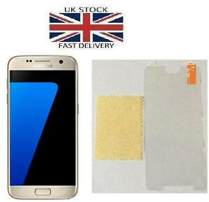 3 Samsung Galaxy S7 Plastique Screen Guard Crystal Clear Film Protecteur-afficher Le Titre D'origine Belle Qualité