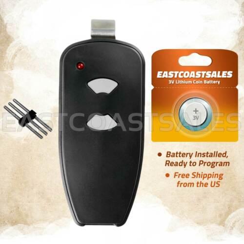 For Marantec M3-2312 315 MHz Two Button Remote Garage Door Opener Program Pin