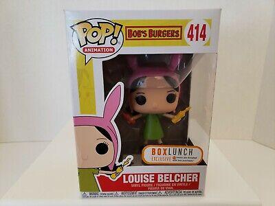 Funko Pop Bob/'s Burgers Louise Belcher with Condiments Vinyl Figure Exclusive