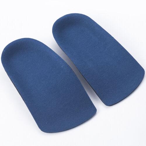 1Pair 3//4 Orthotic Shoe Insoles Arch Support Heel Plantar Fasciitis Orthopedic