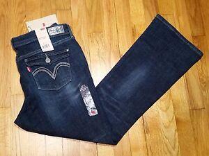 1d17b4890ad Levi's Petite Mid Rise Bootcut Skinny Jeans Size 16 p m Dark Wash ...