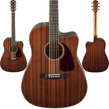 Fender CD-140SCE Acoustic Electric Guitar All Mahogany - Dreadnought Cutaway