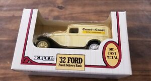 Ertl-Diecast-1932-Ford-Coast-To-Coast-Panel-Delivery-Bank-1-25-Scale