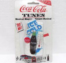 Coca-Cola - CALAMITA/MAGNETE Musical magnets Termometro - anno 1997